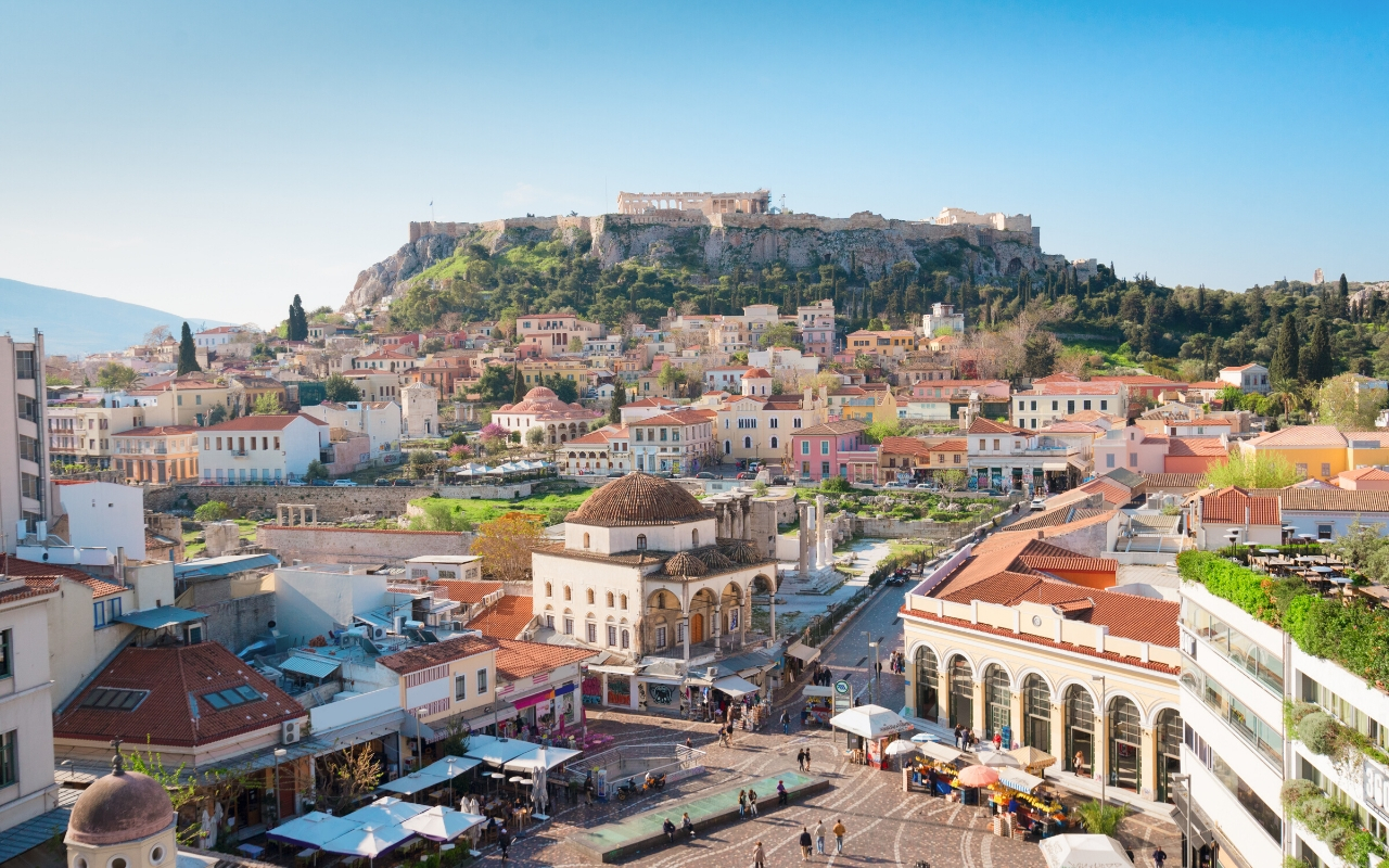 How to get around in Athens Greece