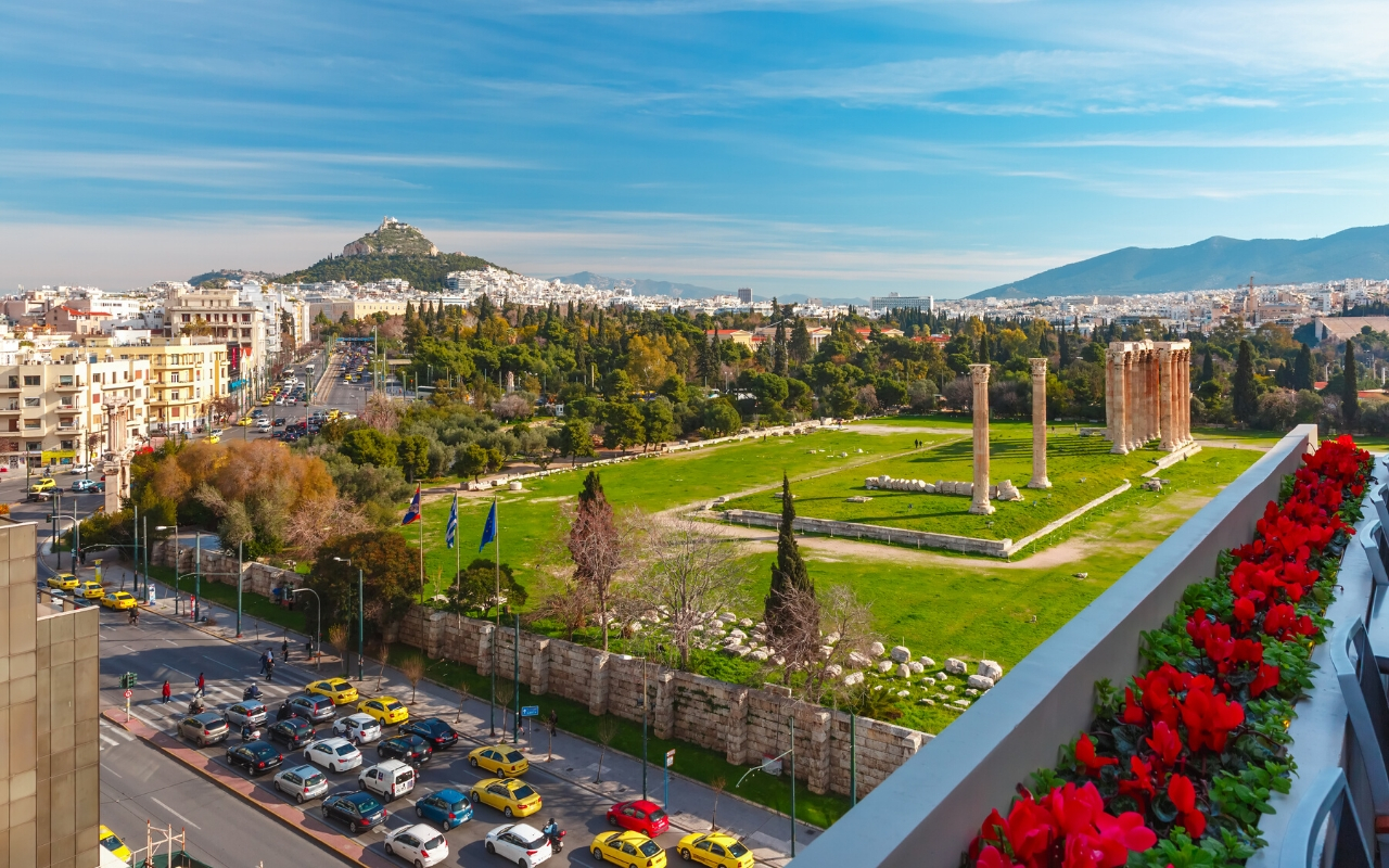 How to get to Athens international airport