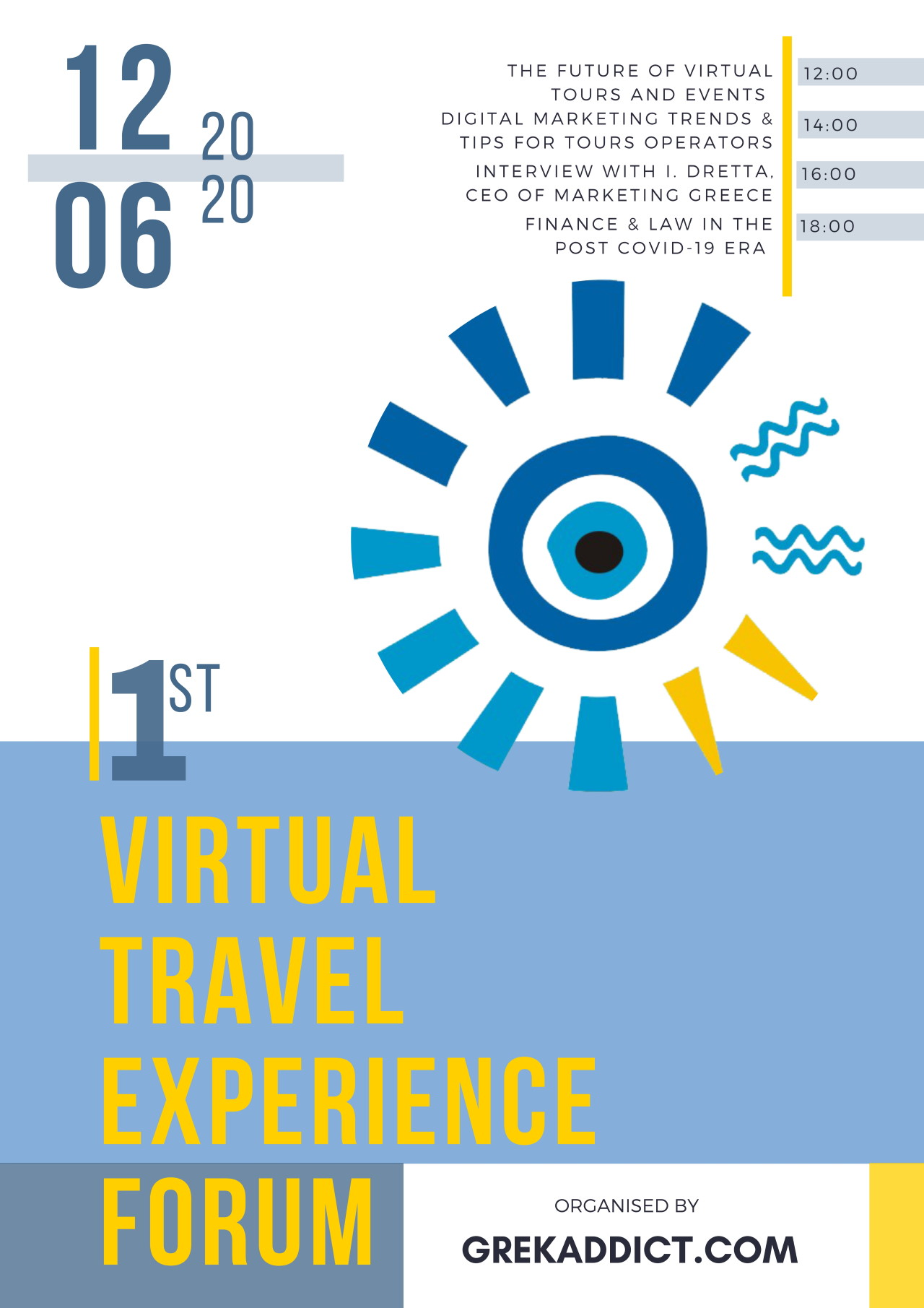 1st Virtual Travel Experience Forum