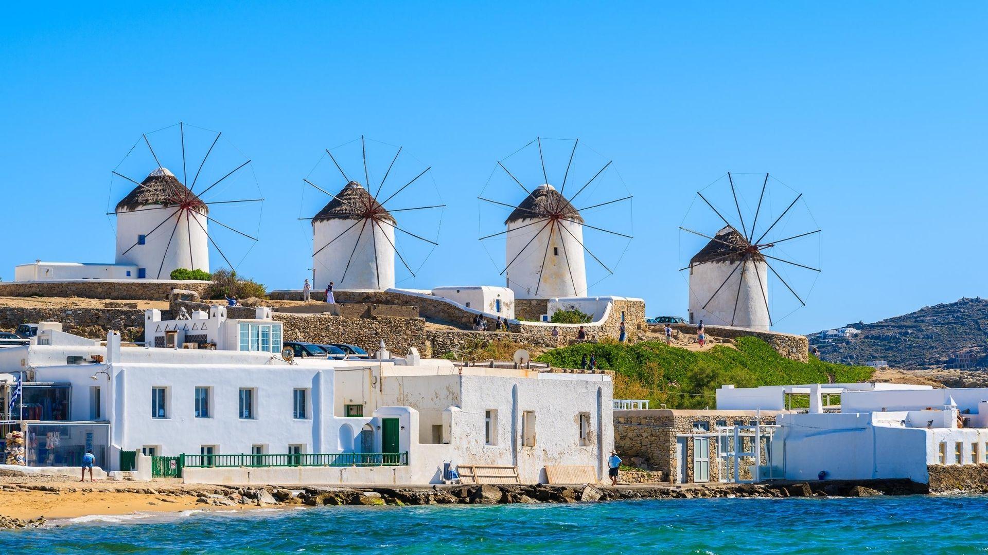 Best Activities in Mykonos - Mills