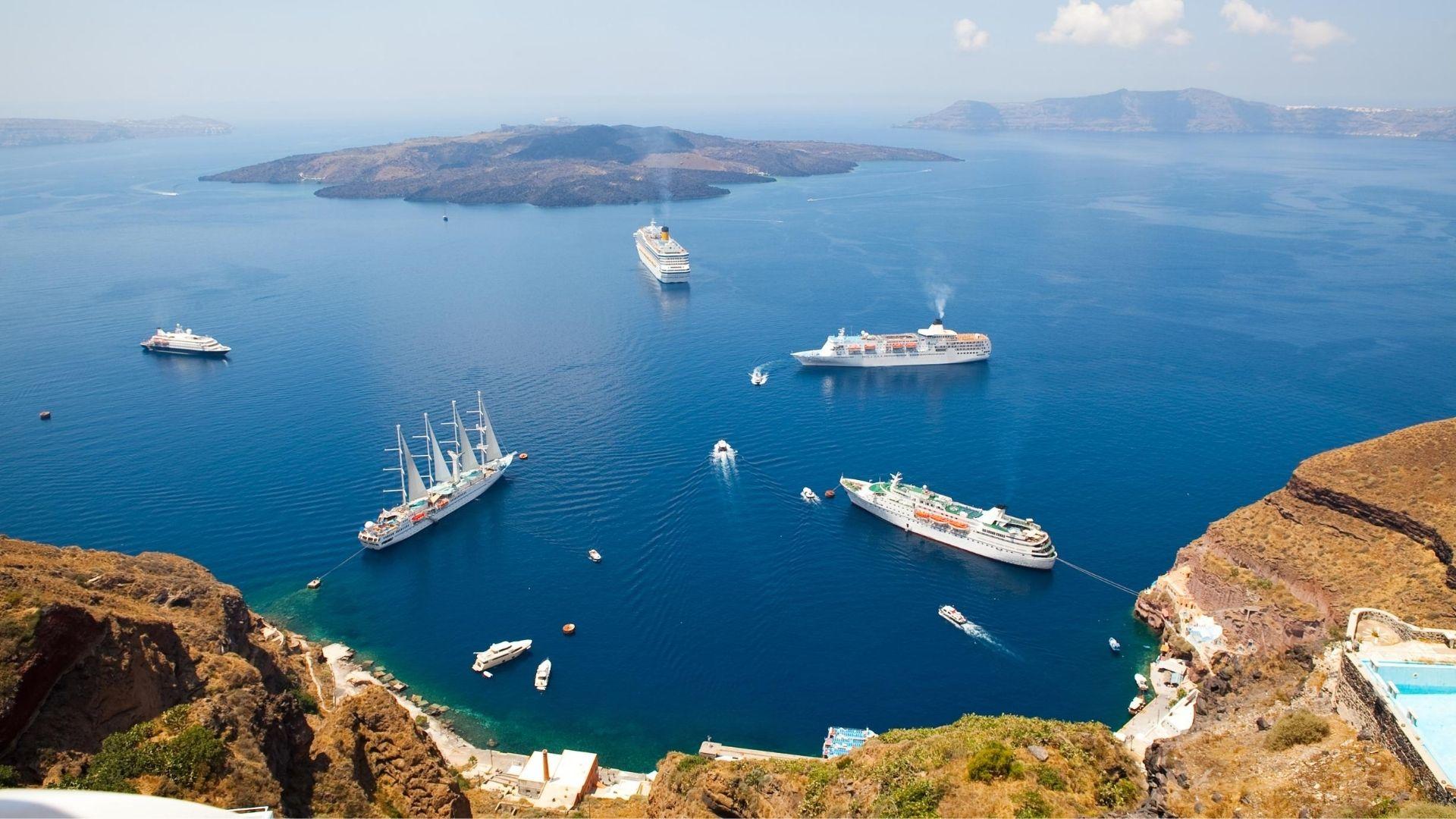 Best Santorini boat trips & Santorini cruises 2020 - View