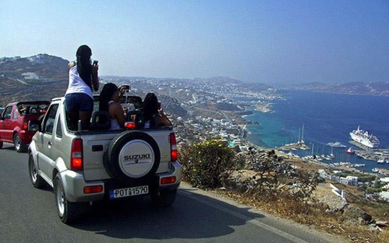 Tour in Mykonos - Jeep