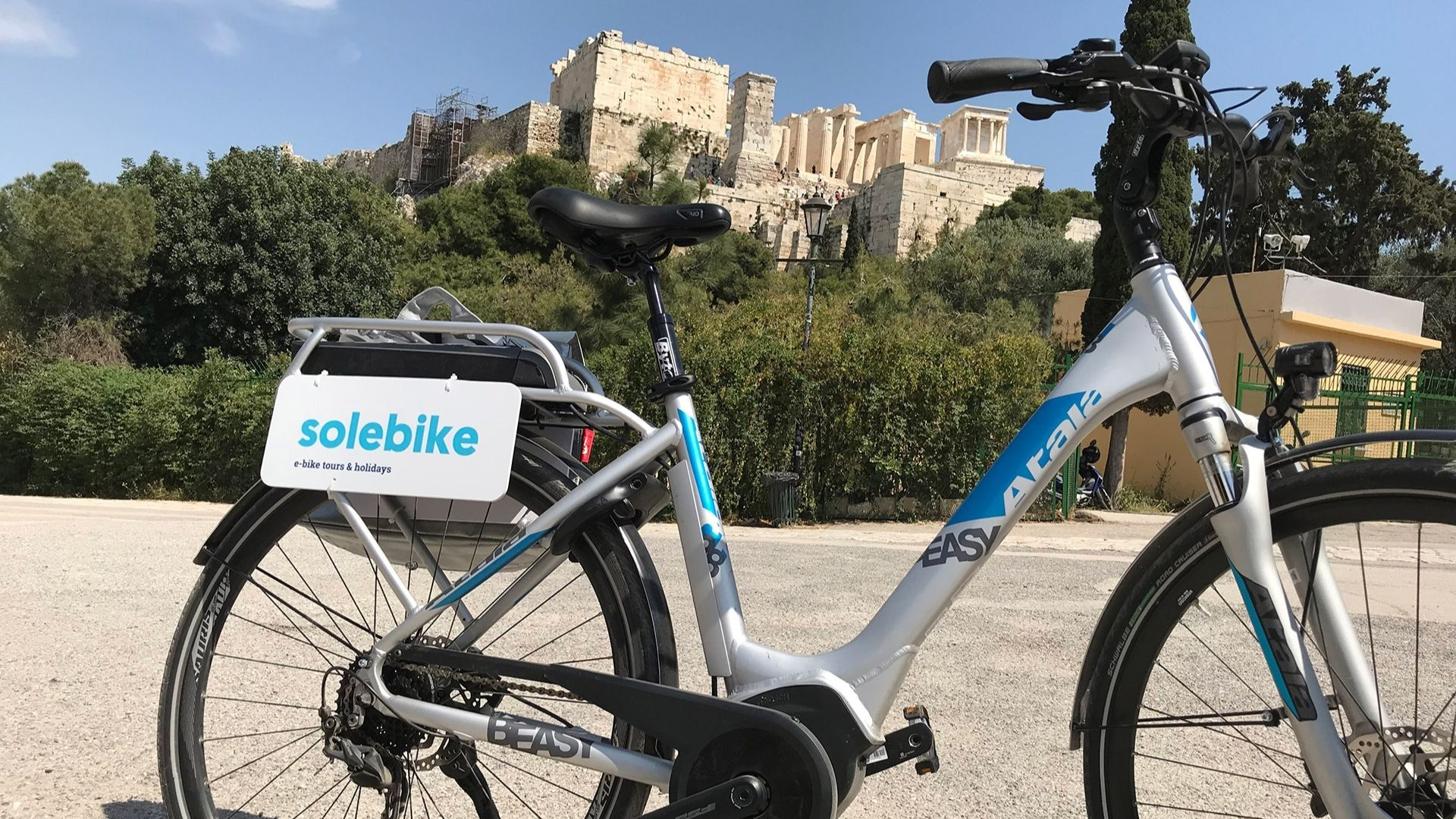 Tours in Athens - Historical Center e-bike Tour
