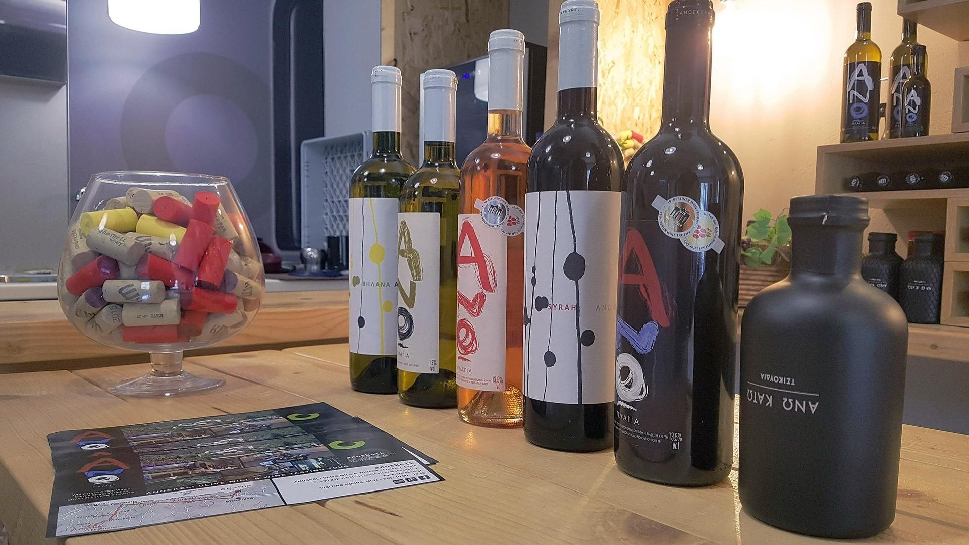 Tours in Chania - Oil & Wine Tasting