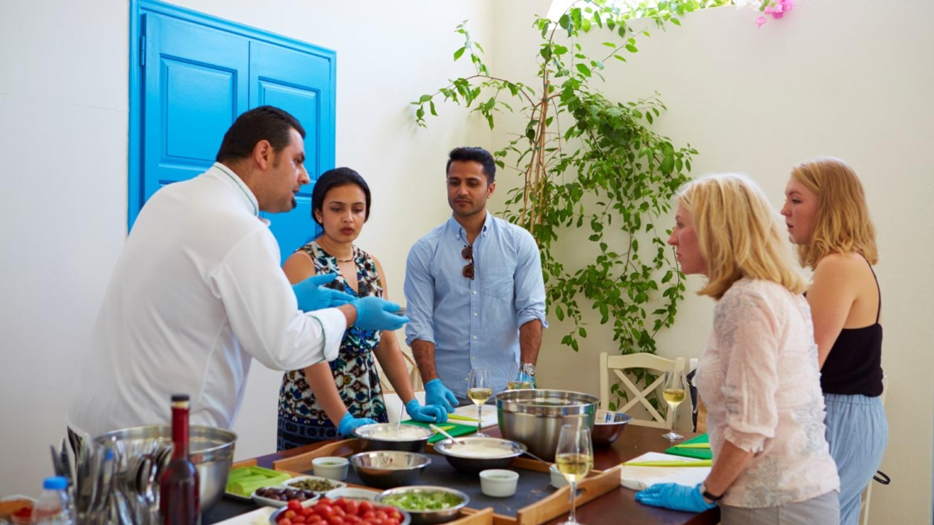 Tours in Santorini - Cooking class and Wine Tasting - Grekaddict
