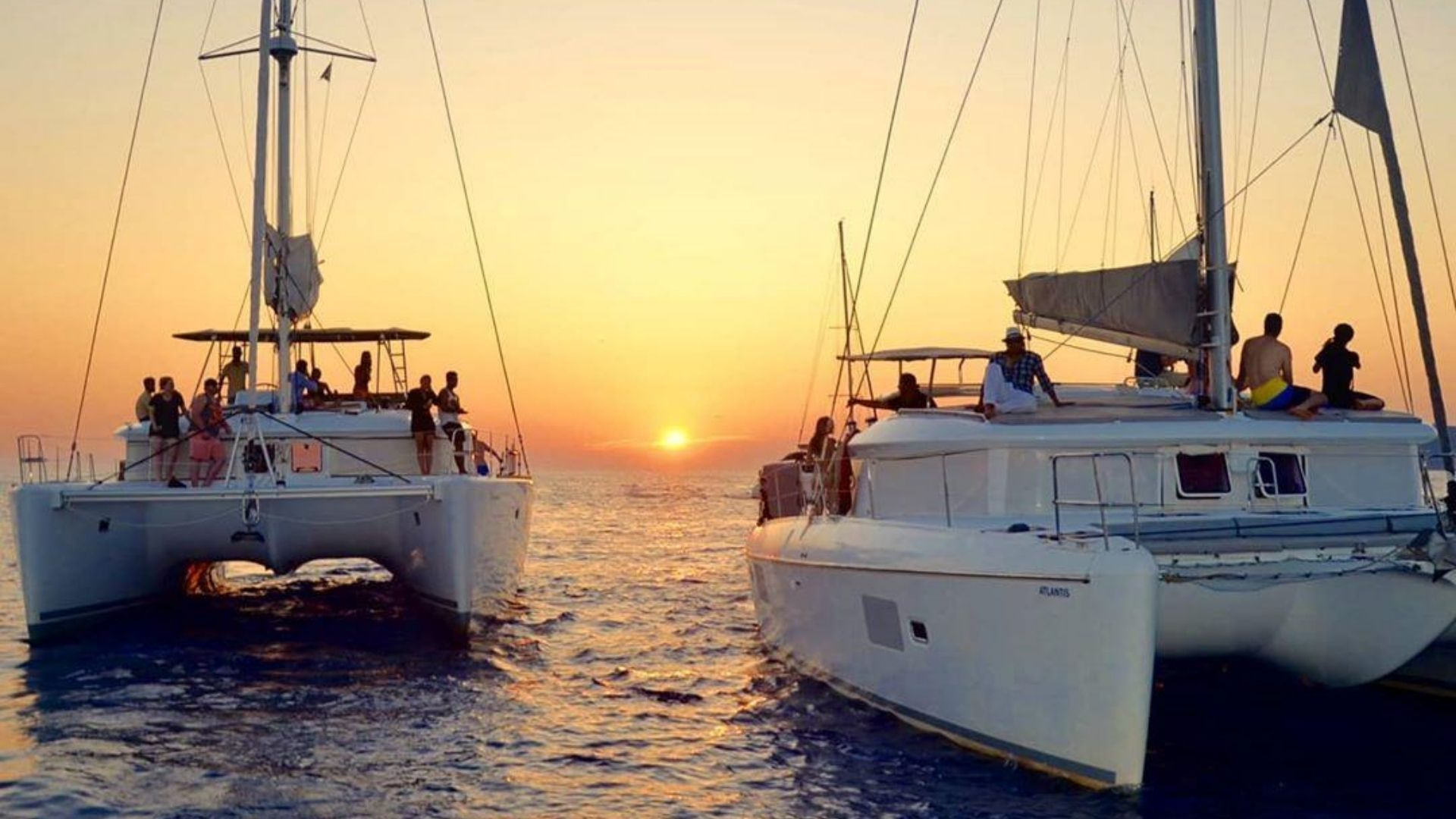 Tours in Santorini - Catamaran