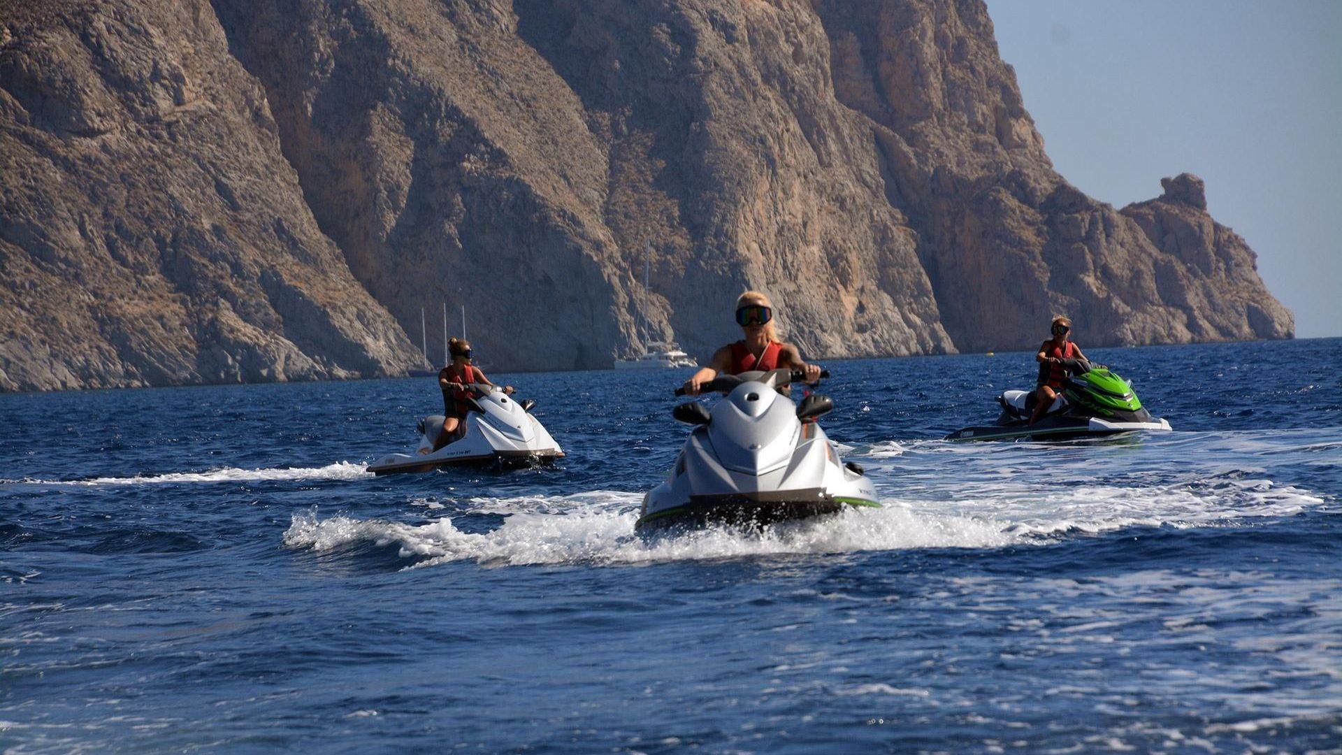 Tours in Santorini - Jet Ski