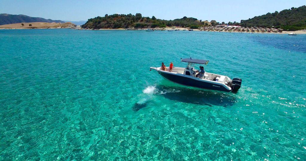 Private Ammouliani Boat trip in Halkidiki