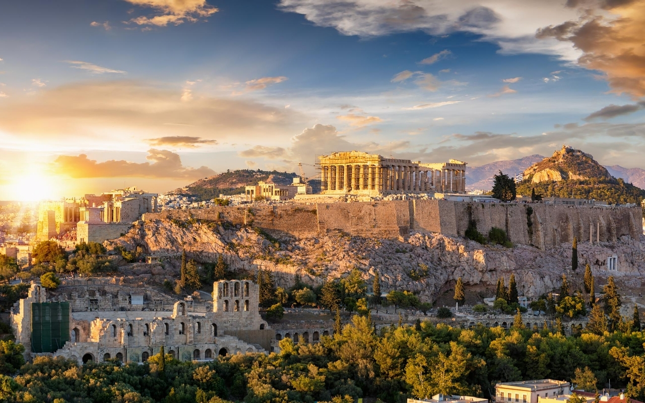 10 days Greece itinerary Acropolis Athens