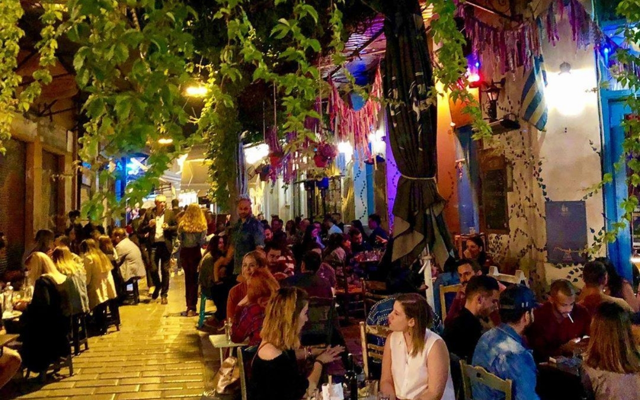 10 days Greece itinerary Athens nightlife