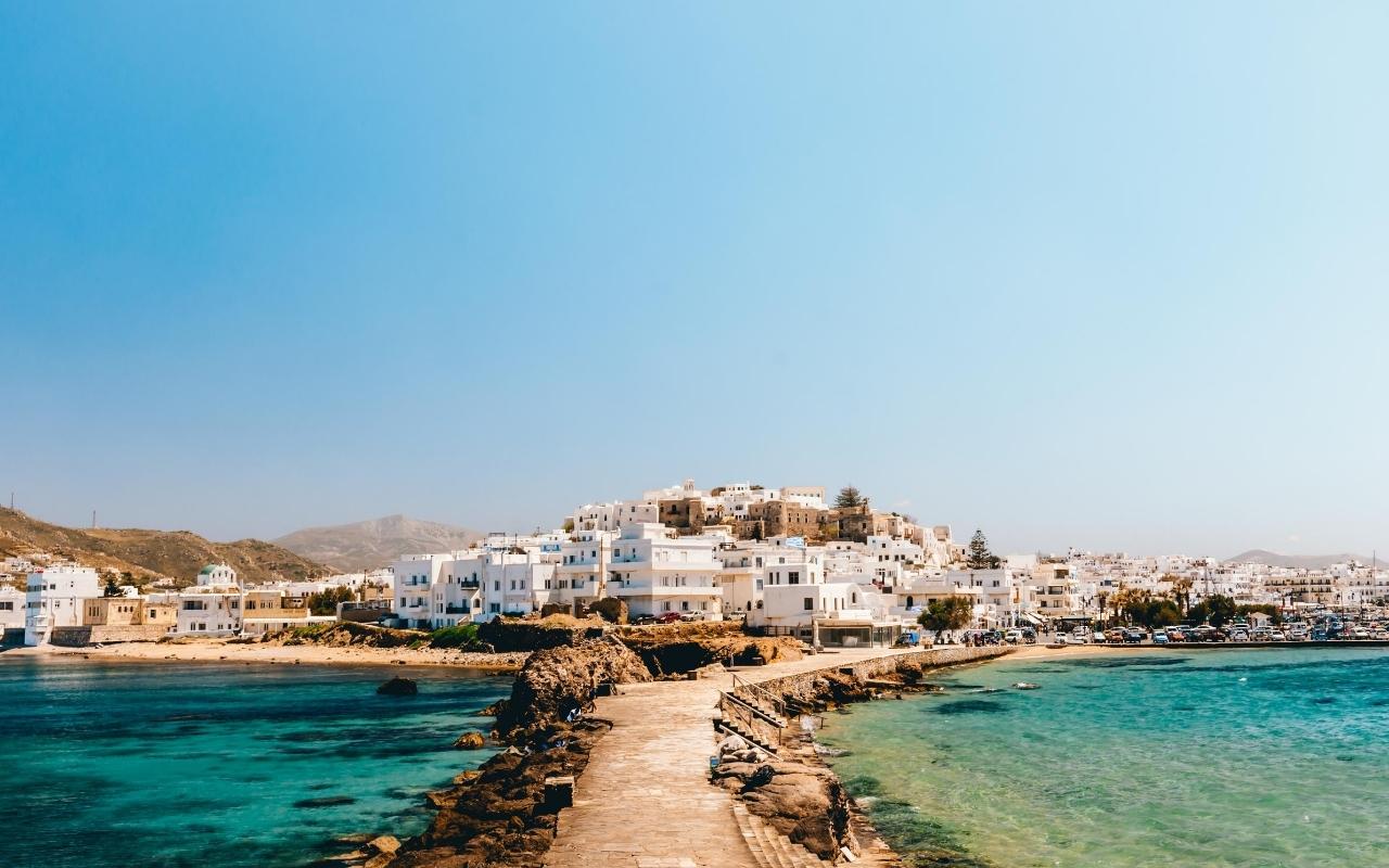 10 days Greece itinerary Naxos island