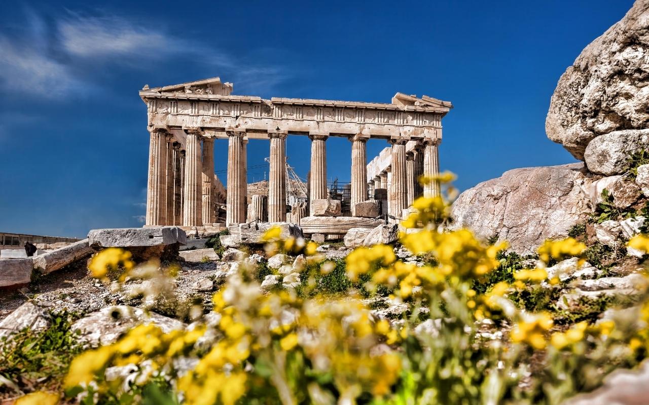 10 days Greece itinerary Parthenon Athens