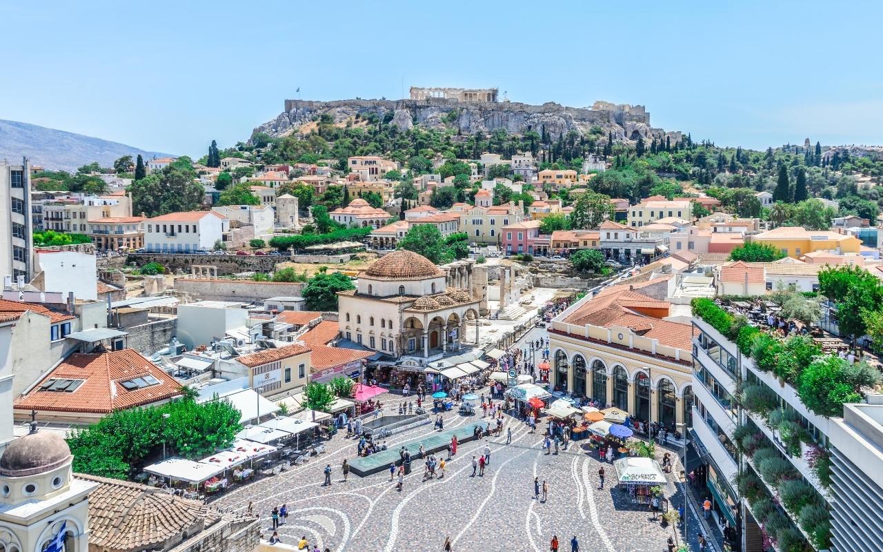 10 days Greece itinerary Monastiraki Athens
