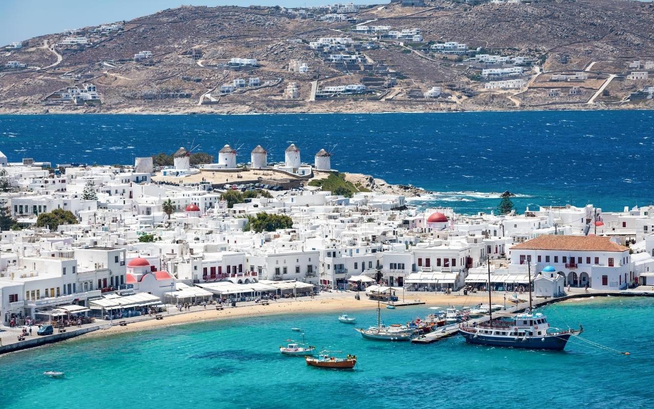 10 days Greece itinerary Mykonos