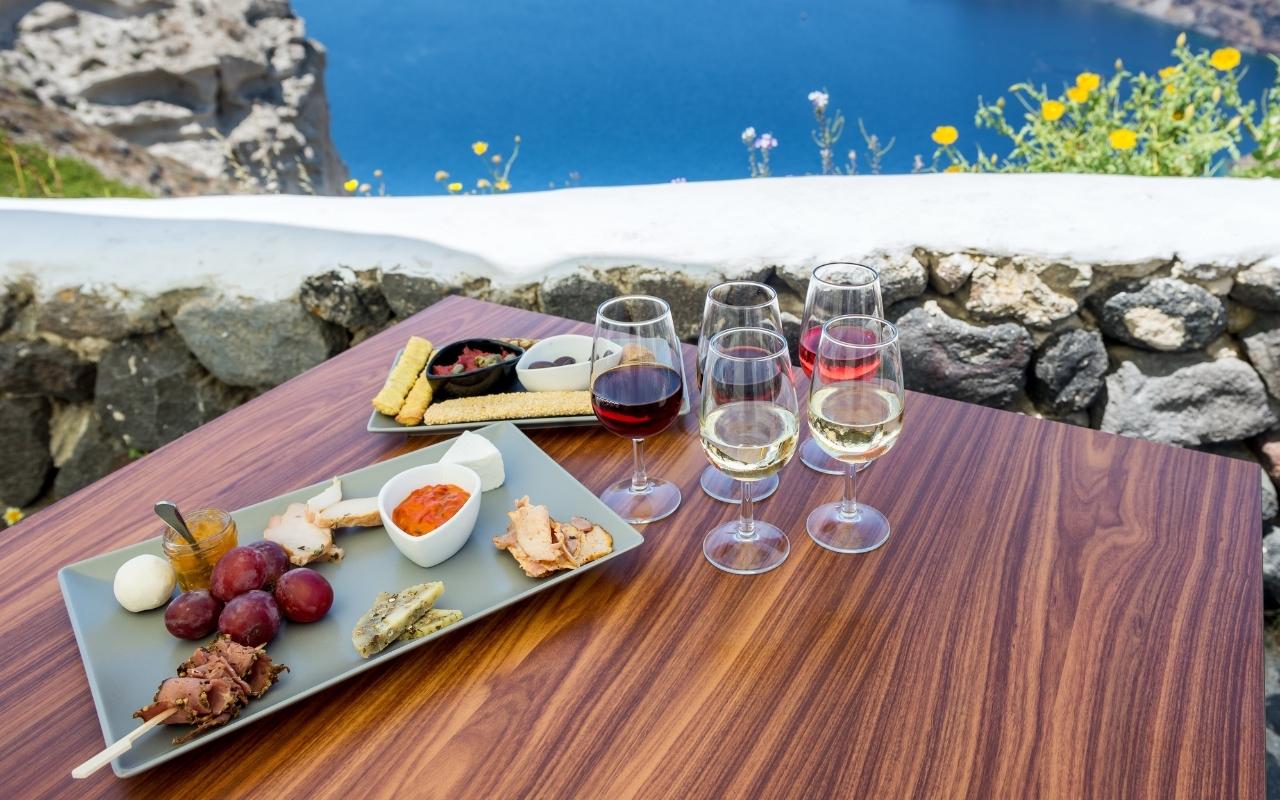0 Best Things to do in Santorini wine tasting