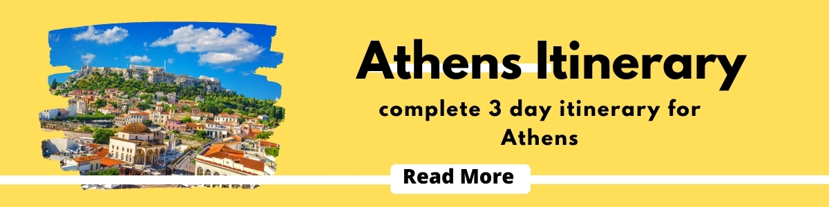 things to do in 3 day Athens itinerary