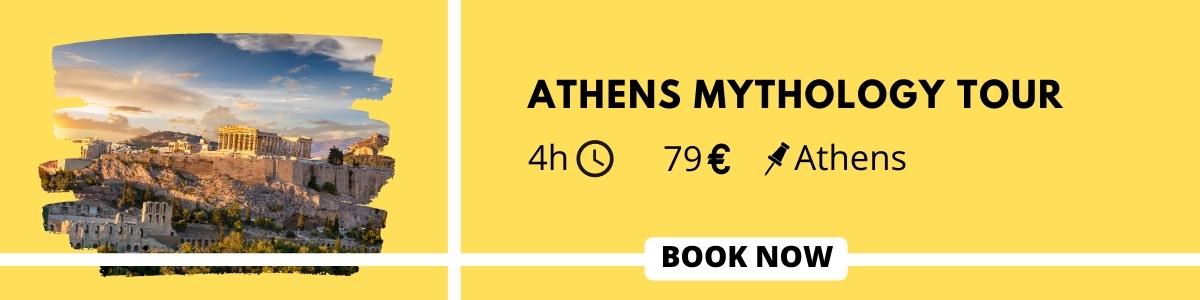 Athens mythology tour