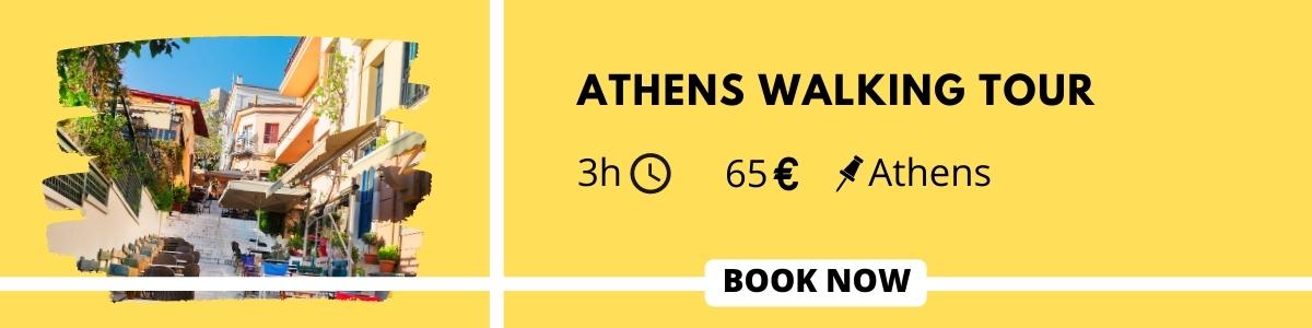 Walking tour in Athens Plaka Anafiotika