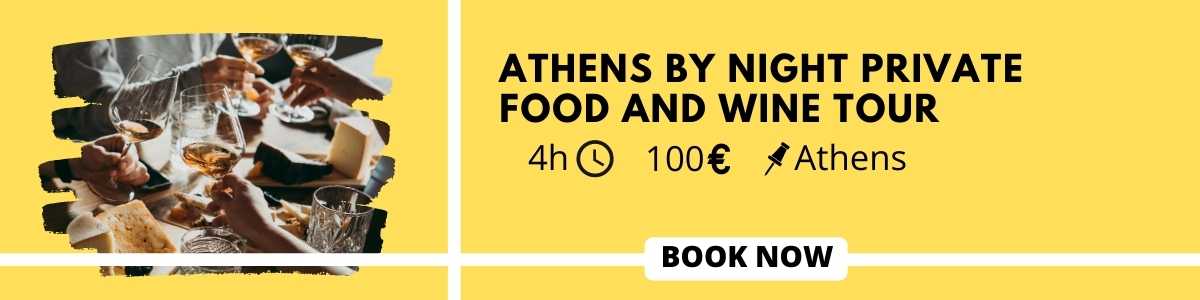 Food and wine tour in Athens