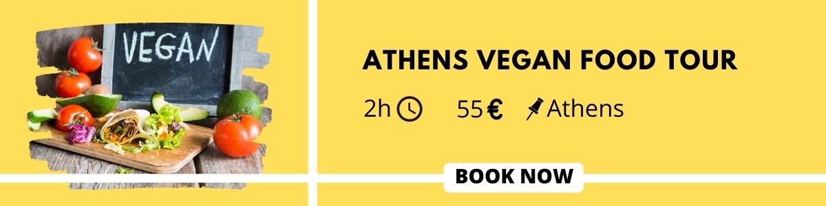 vegan food tour in Athens