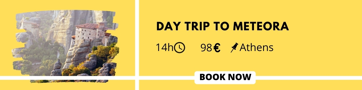 Day trip to Meteora from Athens tour