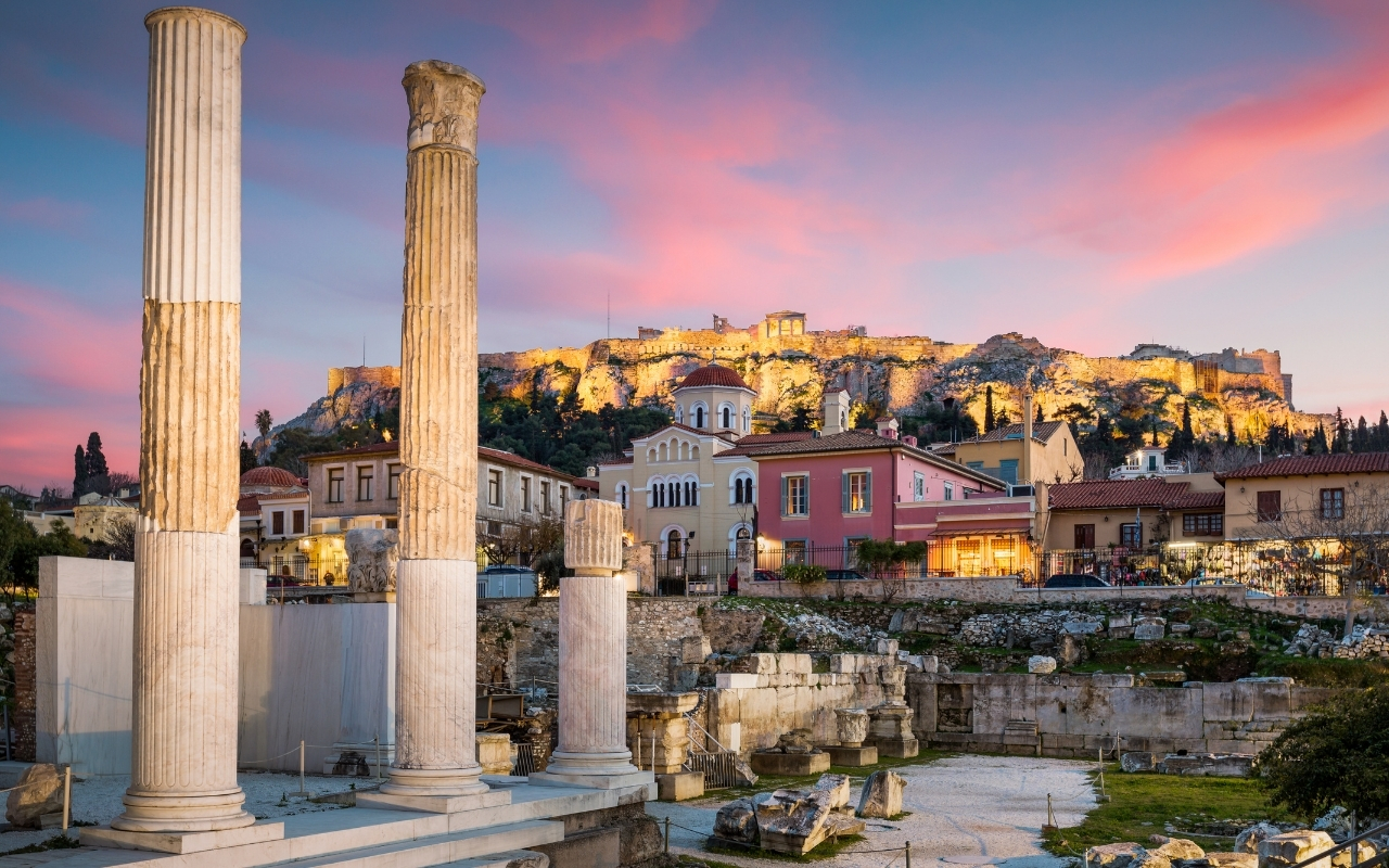 Best things to do in Athens Roman Agora