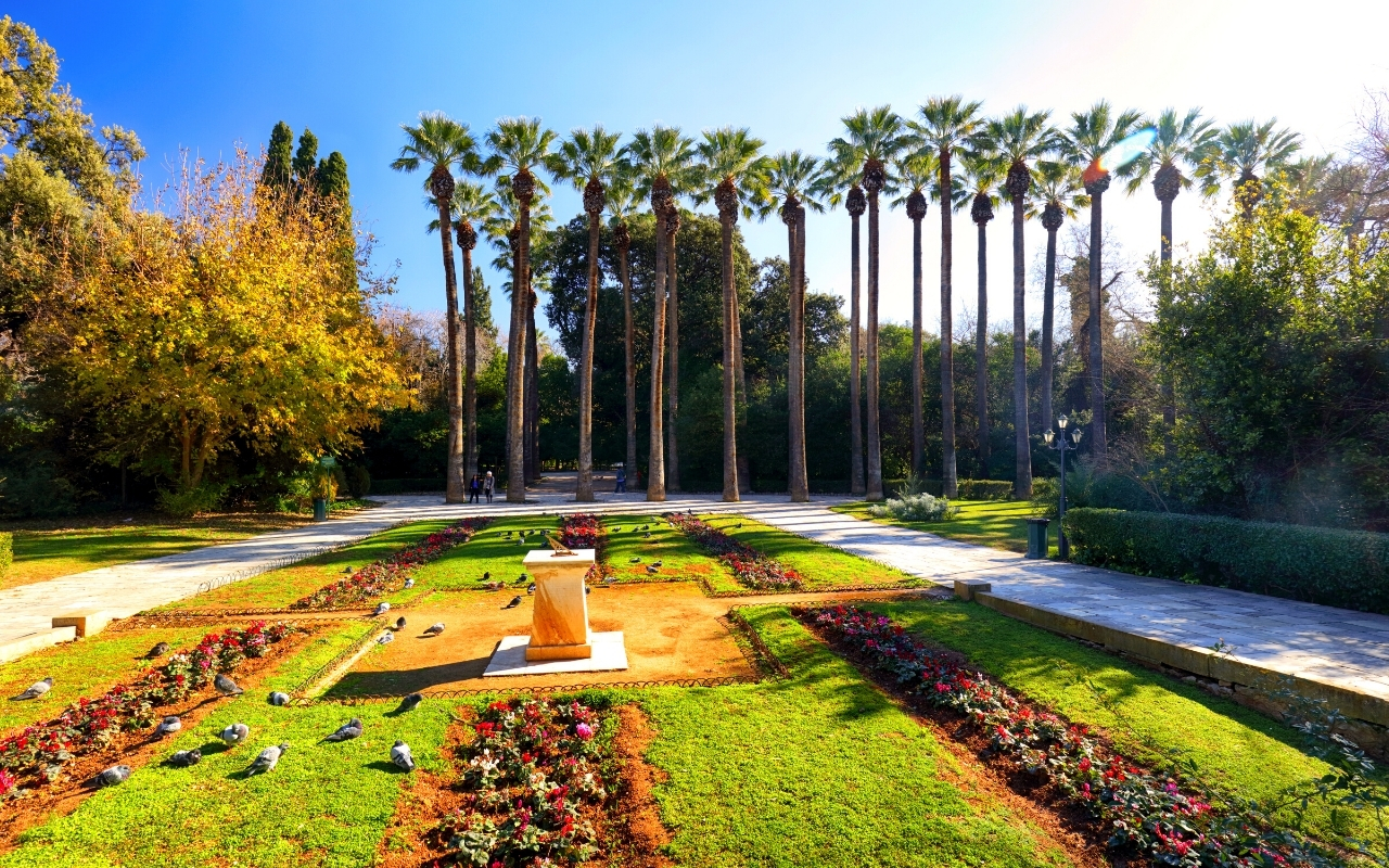 Best things to do in Athens national garden in Athens