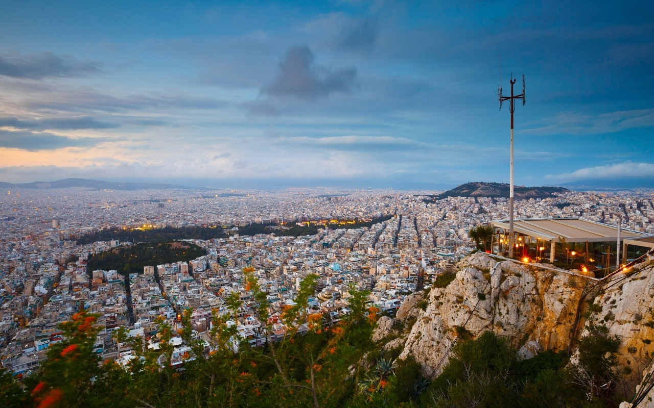 Best things to do in Athens panoramic view Lycabettus hill