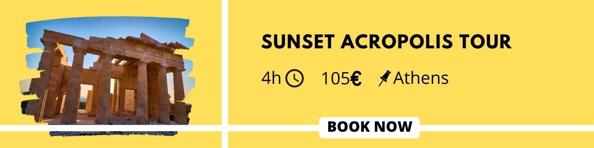 Sunset Acropolis Tour