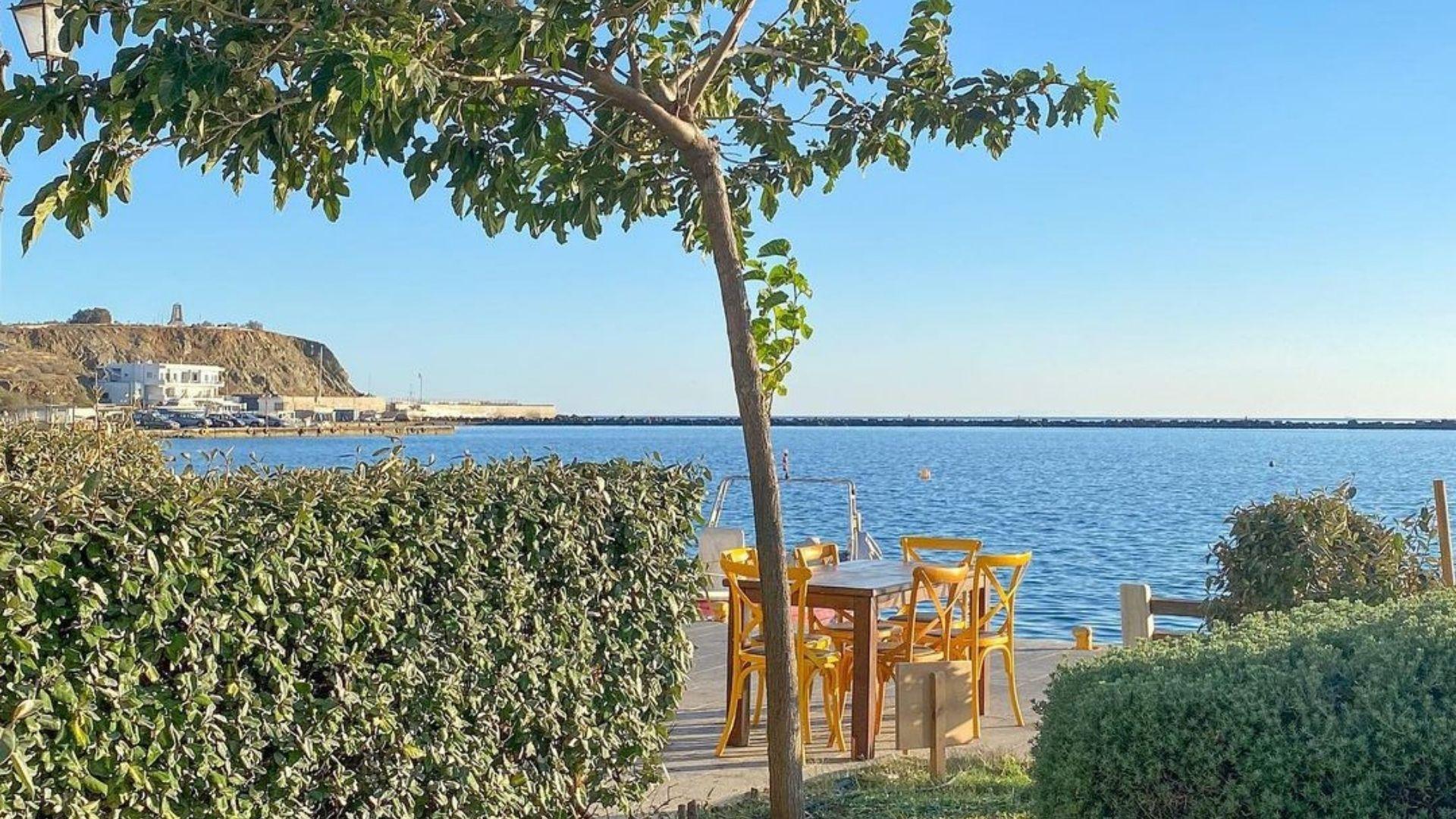 Seaside of Tinos
