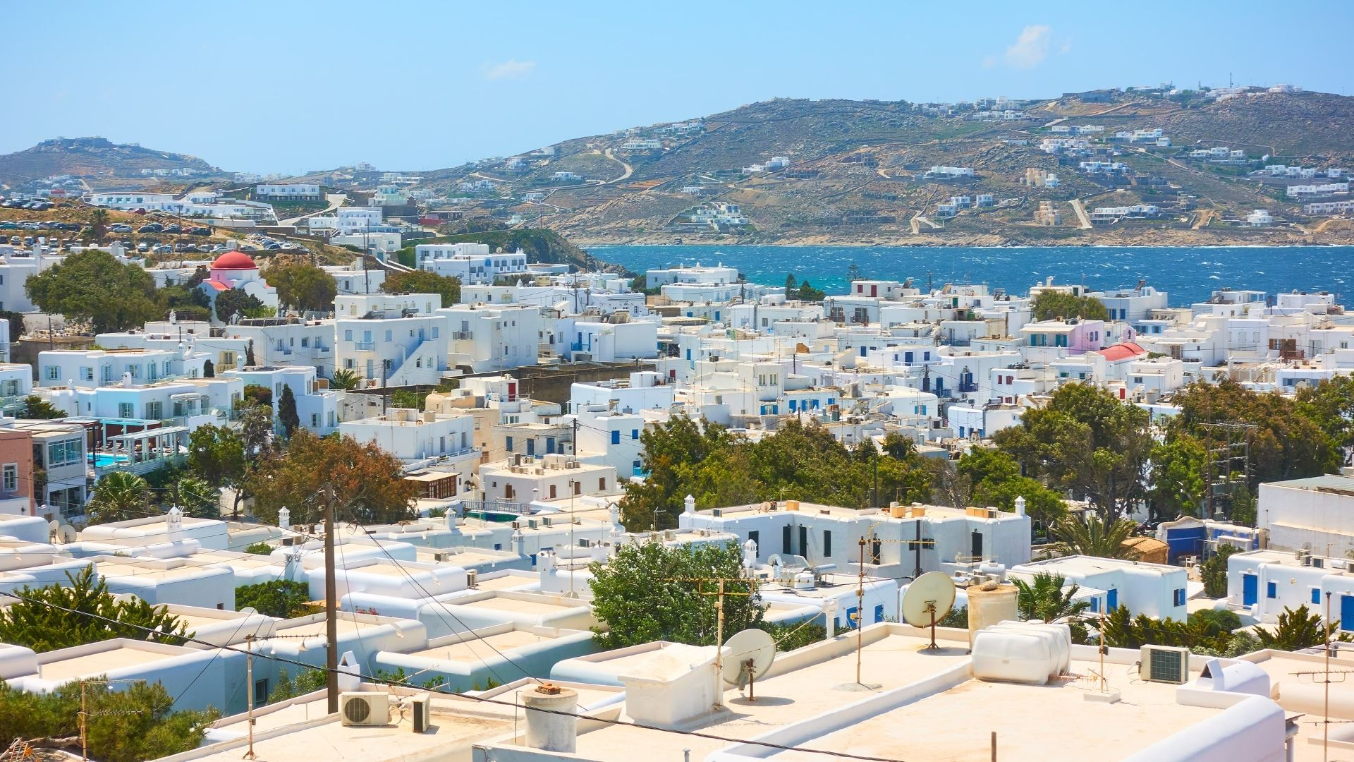 The capital of Mykonos, Chora