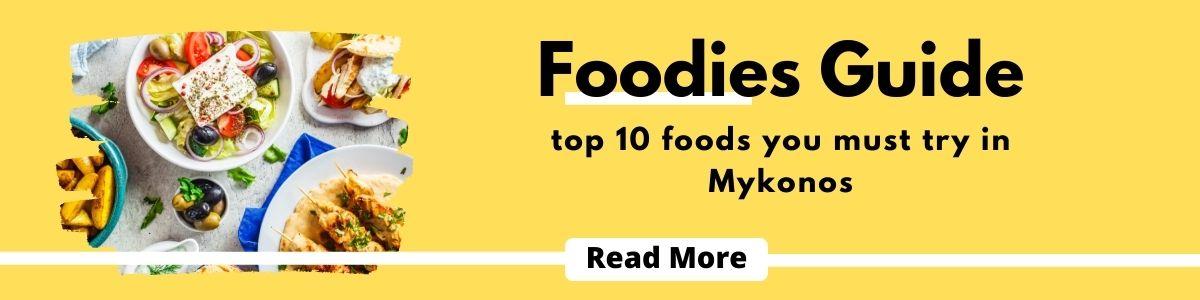 Mykonos Foodies Guide