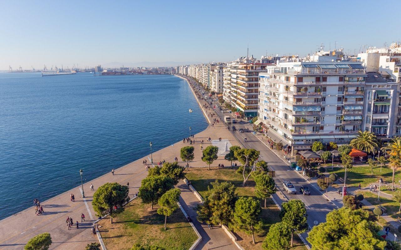 Nea Paralia Thessaloniki Attraction