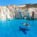 Milos Sailing boat tour