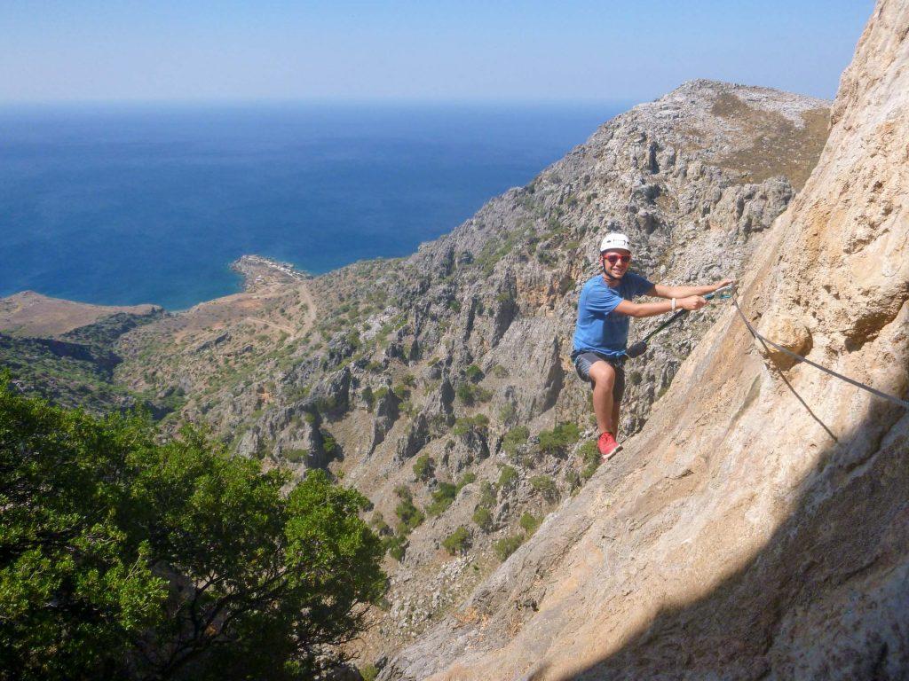 Via Ferrata Hiking Tour in Crete, Greece