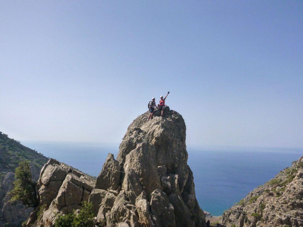 Via Ferrata Hiking tour in Crete