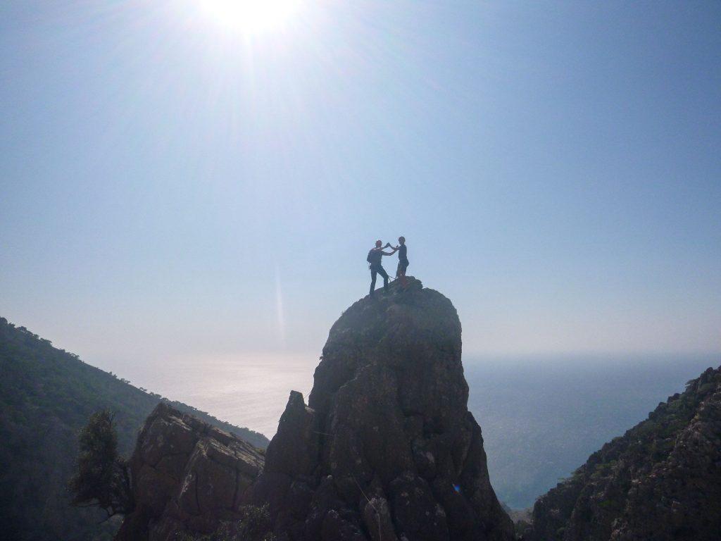 Via Ferrata Historical Hiking Tour in Crete, Greece