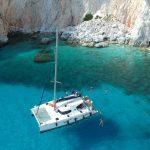 catamaran day cruise in Milos island, Greece