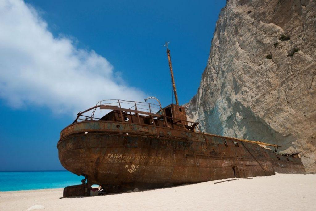 Shipwreck tour in Zakynthos