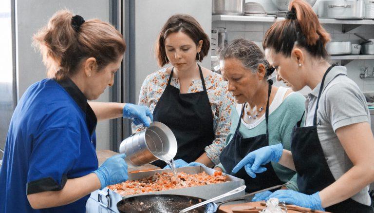 Cooking class on Amorgos island, Greece