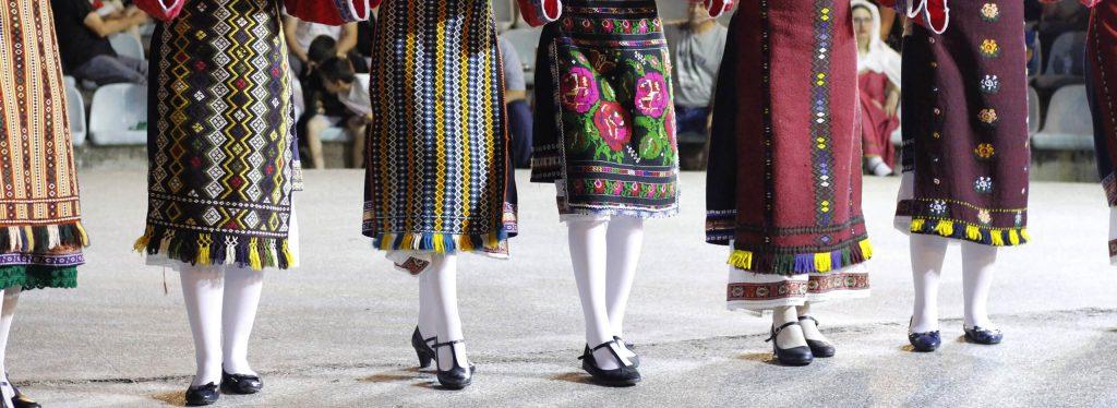 Greek dance lessons on Amorgos island, Greece