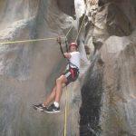 Crete Canyoning tour at Panagia Canyon in Crete