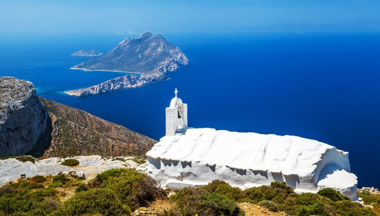 Hiking Amorgos island tour