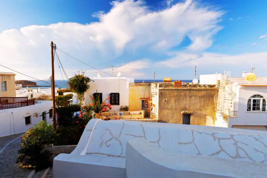 Naxos hiking tour through rural villages, Greece