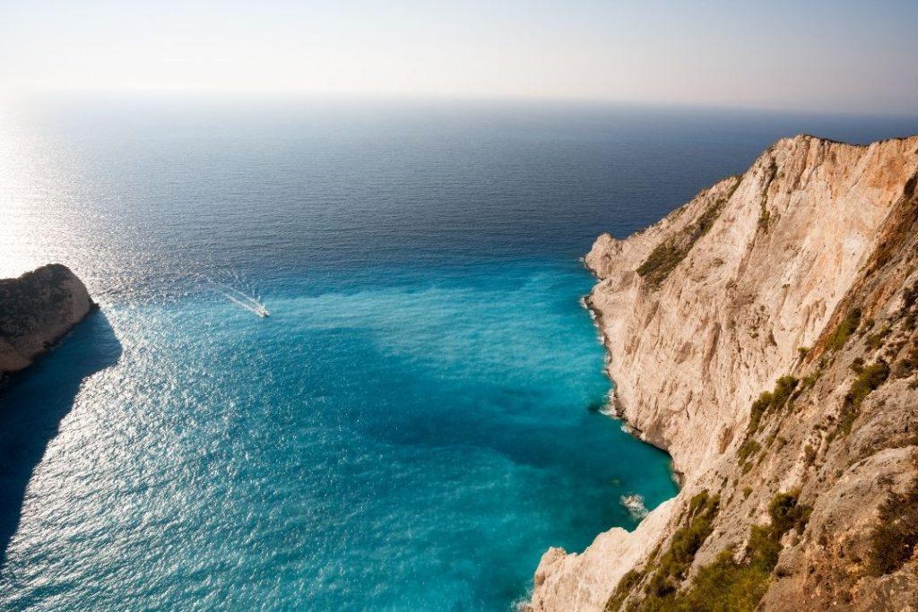 Private sunset Zakynthos shipwreck tour