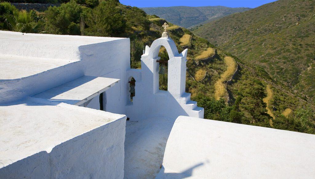 Road trip of Amorgos island, Greece