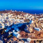 Road trip tour of Amorgos island, Greece