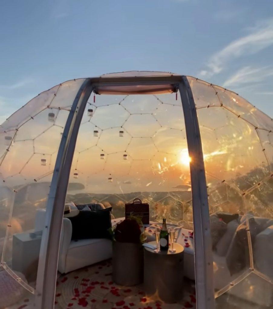 Sky Dome Santorini Experience